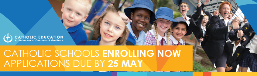 ACT Catholic Schools Enrolling Now